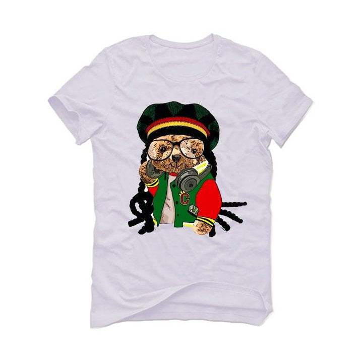 Air Jordan 4 Rasta White T-Shirt (ill B rasta dreads)