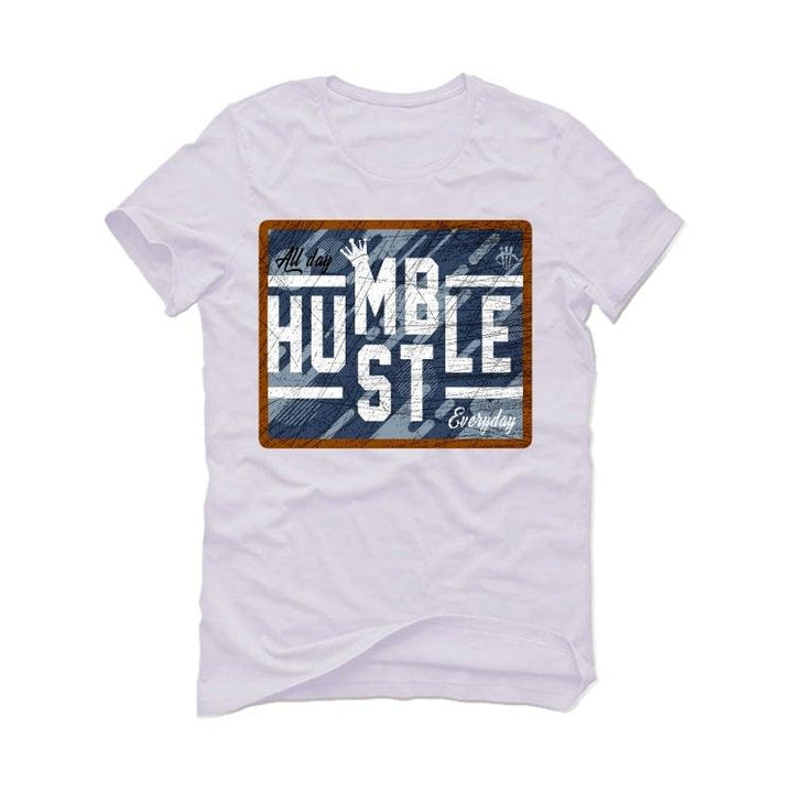 "Air Jordan 6 ""Washed Denim"" White T-Shirt (ALWAYS HUSTLE)"