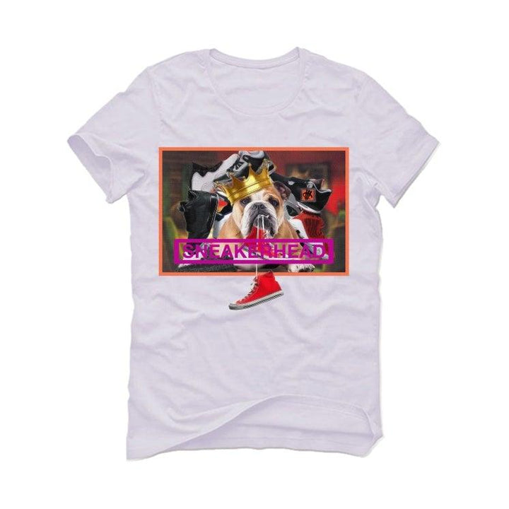 Air Jordan 7 Retro Patent Leather 2019 White T-Shirt (Sneakerdog)
