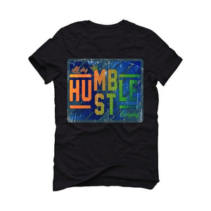 Air Jordan 13 Flint 2020 Black T-Shirt (always hustle)