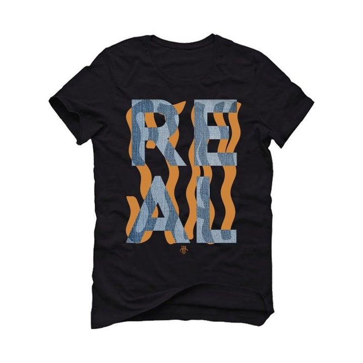 "Air Jordan 6 ""Washed Denim"" Black T-Shirt (Stay Real)"