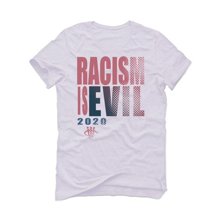Jordan 4 Retro Union Guava Ice White T-Shirt (RACISM IS EVIL)