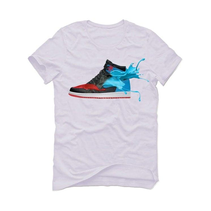 "The Air Jordan 1 ""UNC To CHI"" 2020 White T-Shirt (UNC CHI)"