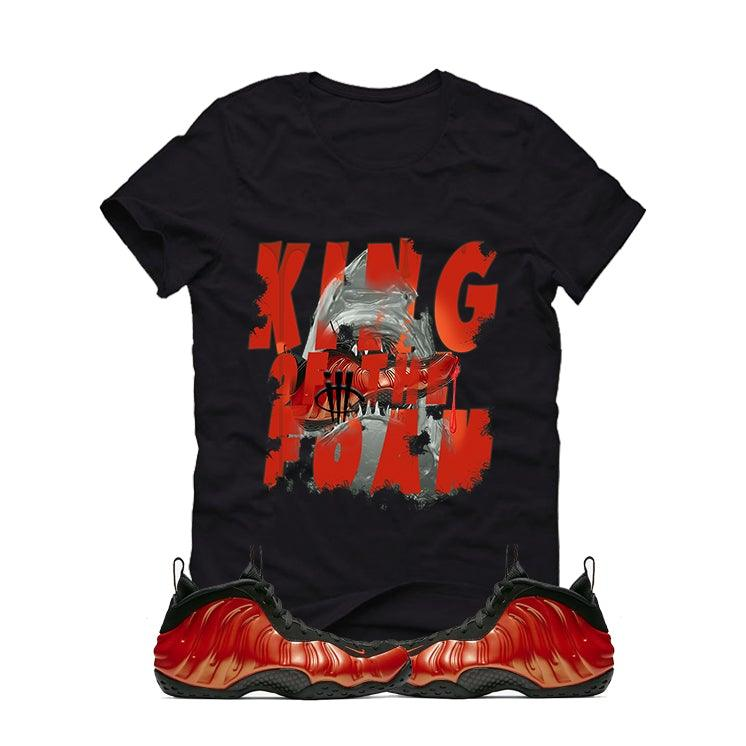 best service 2d27c 60bf9 Nike Air Foamposite One Habanero Red Black T (King Of The Foam)