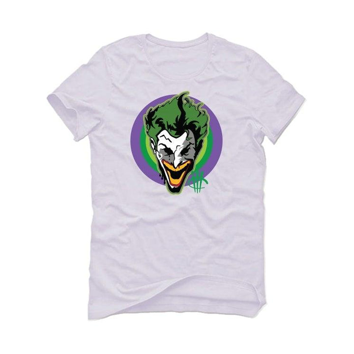Air Jordan 3 Electric Green Violet Shock 2021 White T-Shirt (joker)