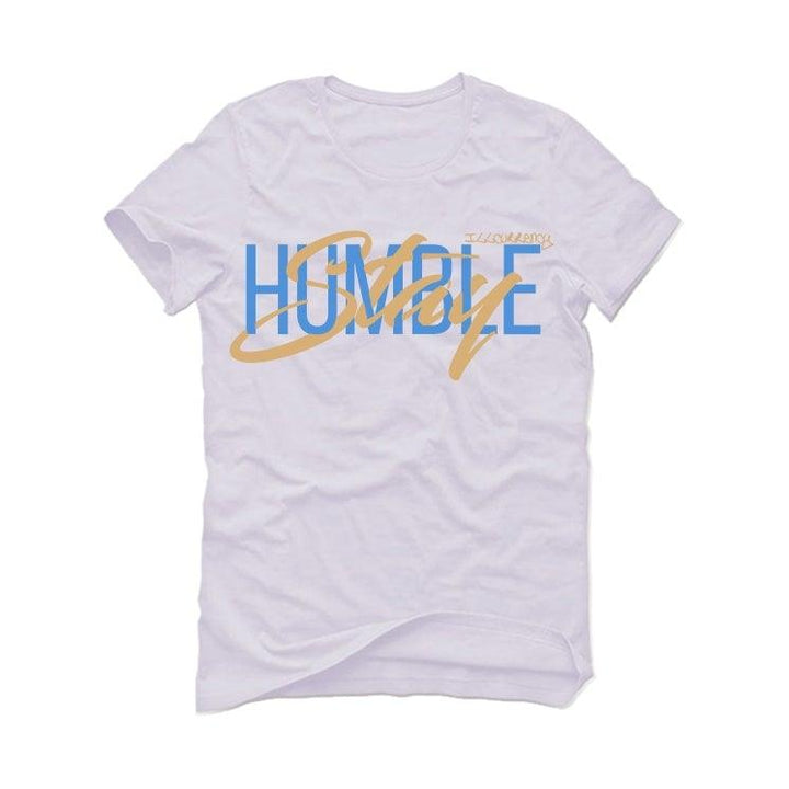 "YEEZY 350 V2 ""Linen"" White T-Shirt (Stay Humble)"