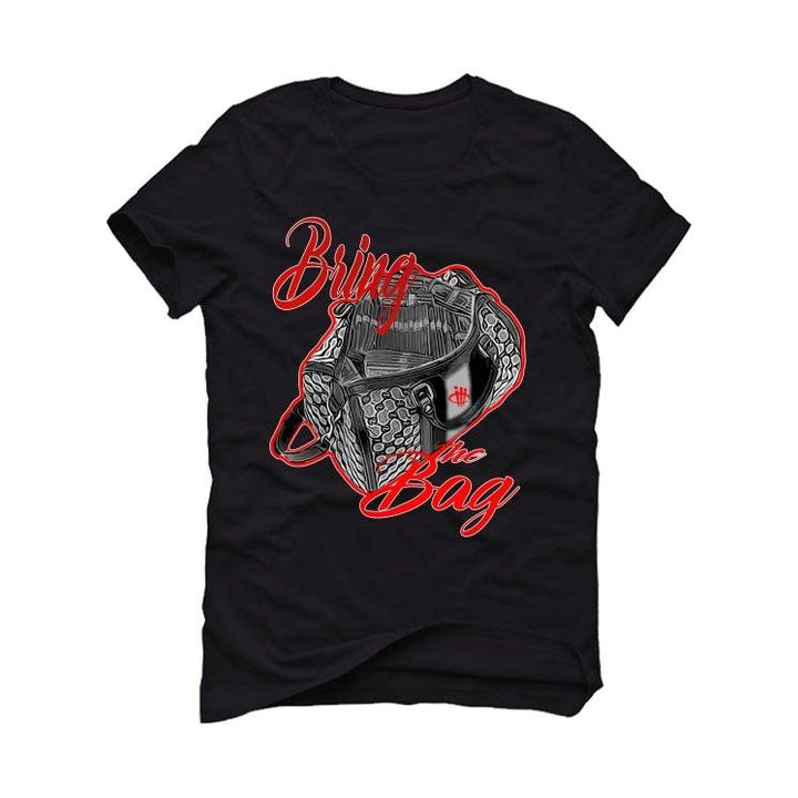 "THE AIR JORDAN 11 BRED""2020  Black T-Shirt (BRING THE BAG)"