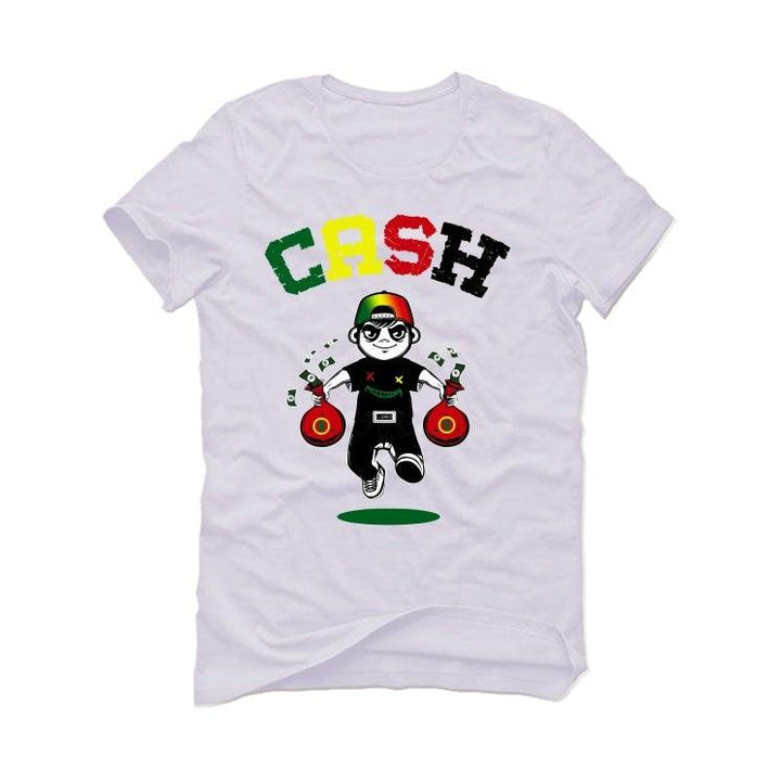 Air Jordan 4 Rasta White T-Shirt (Cash)