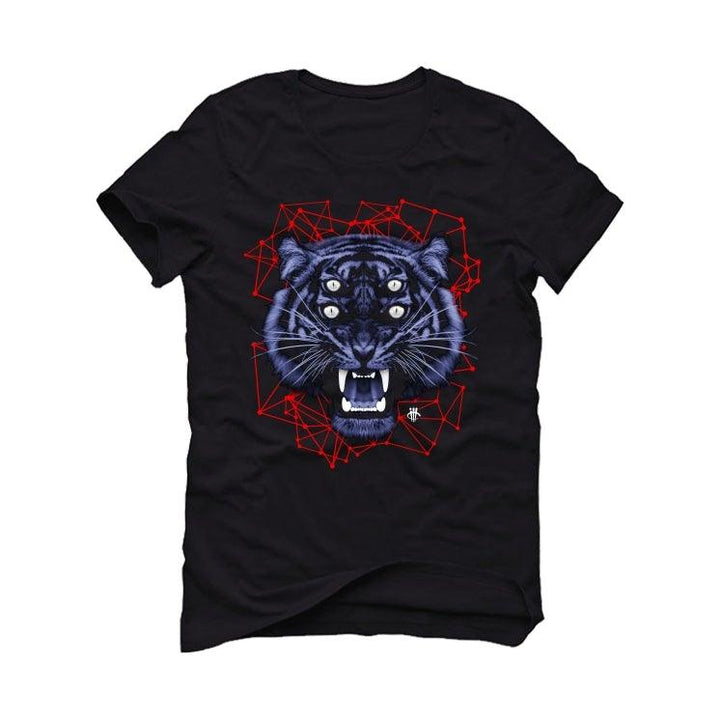 Air Jordan 4 Winter 'Loyal Blue' Black T-Shirt (4 Eyes)