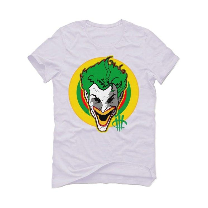 Air Jordan 4 Rasta White T-Shirt (no jokes)