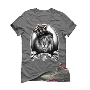 Air Jordan 5 Camo Grey T (A KINGS LIFE)