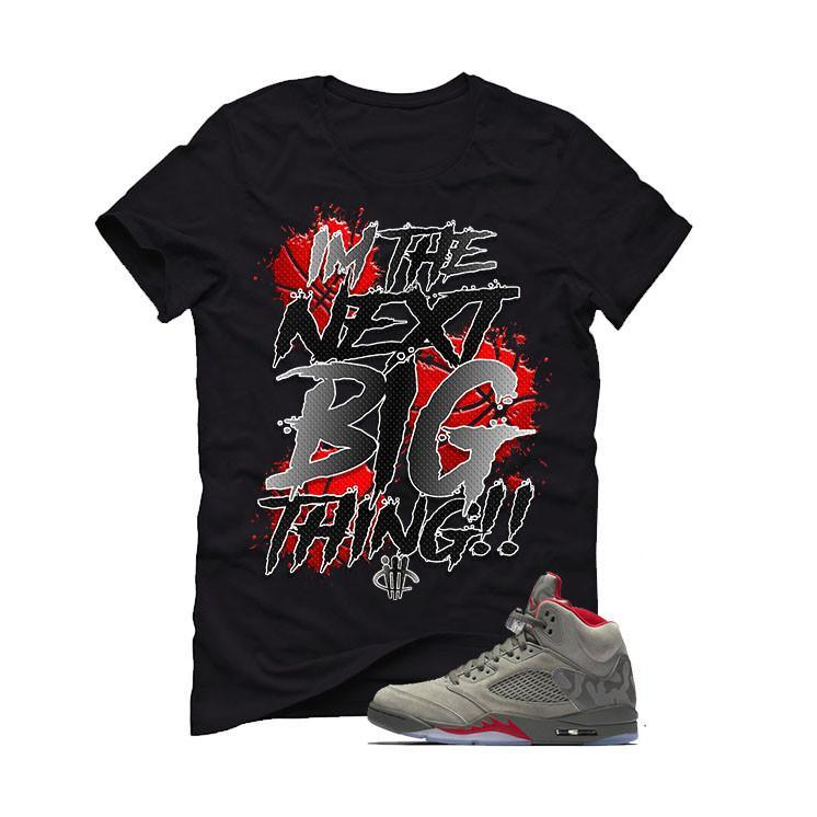 Air Jordan 5 Camo Black T (BIG THING)