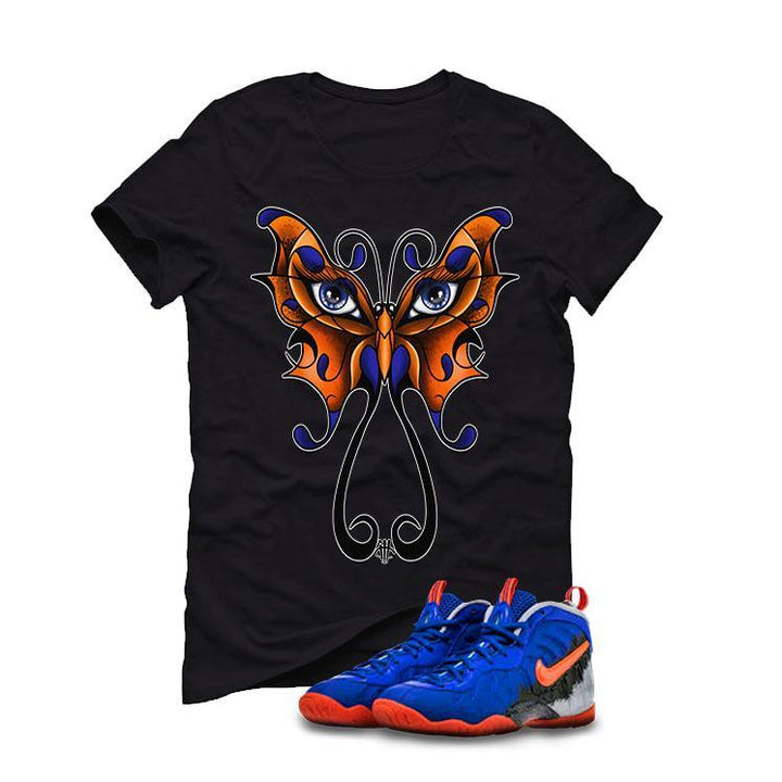 Nerf Nike Little Posite Pro GS Black T (BUTTERFLY)