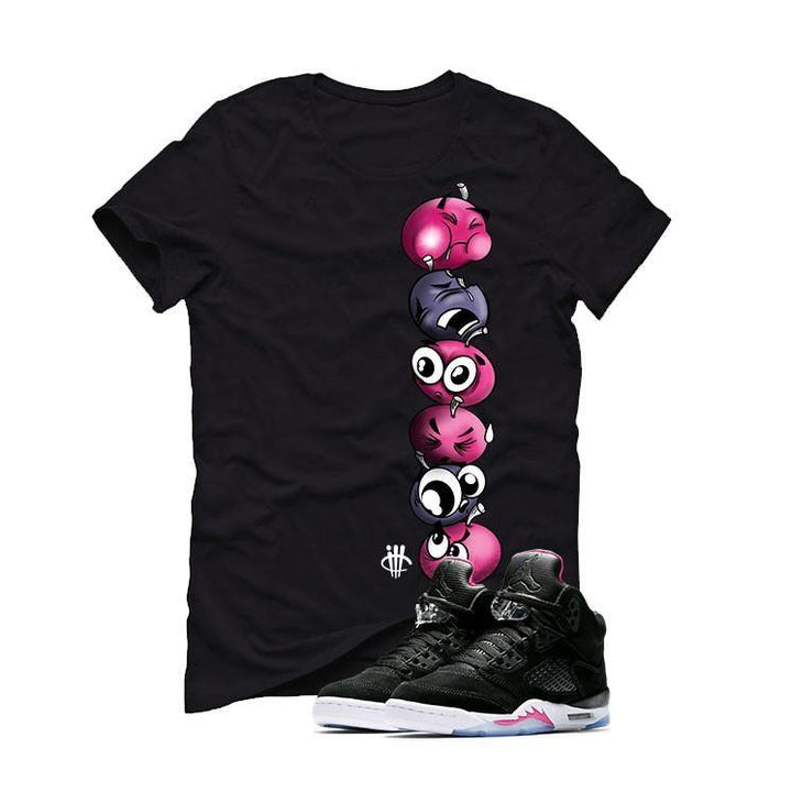 Air Jordan 5 GS Deadly Pink Black T (CHERRY STACK)