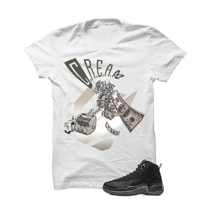 Jordan 12 Ovo White T Shirt (Cream)