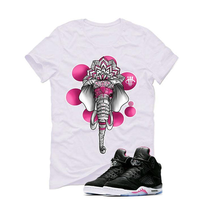 Air Jordan 5 GS Deadly Pink White T (ELEPHANT)