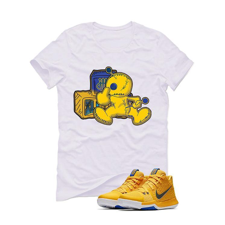 Nike Kyrie 3 Mac and Cheese Kids White T (Fck u)