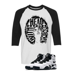 Nike Air Max 2 Uptempo 94 'White & Black' Baseball T (HEAD HIGH)