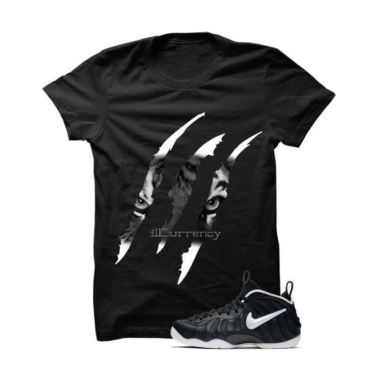 Foamposite Pro Dr. Doom Black T Shirt (Tigger Claw)