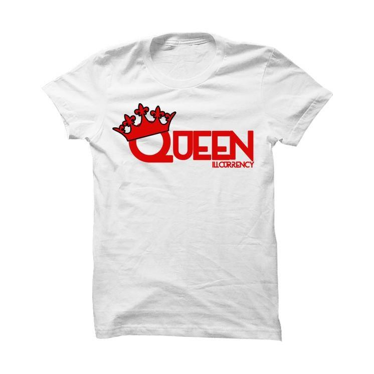 His And Hers White T Shirt (Queen)