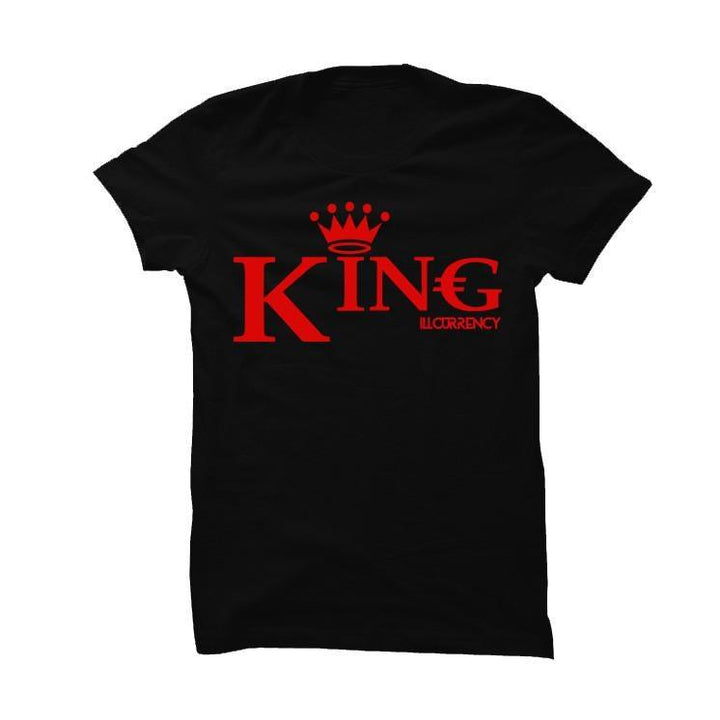 His And Hers Black T Shirt (King)
