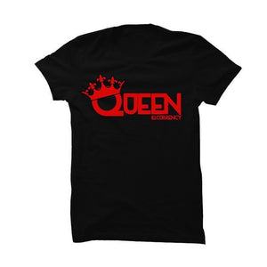 His And Hers Black T Shirt (Queen)