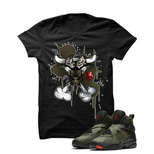 Jordan 8 Undefeated Black T Shirt (Bully)