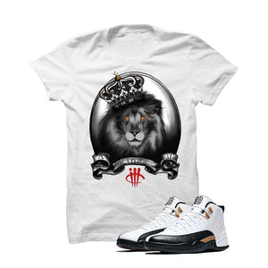 Jordan 12 Chinese New Year White T Shirt (A Kings Life)