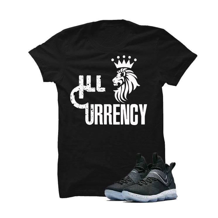 Nike Lebron 14 Black Ice Black T Shirt (Lion Currency)