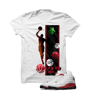 Jordan 13 Chicago White T Shirt (Mj)
