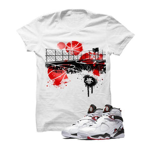 Jordan 8 Alternate White T Shirt (B Court)