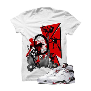 Jordan 8 Alternate White T Shirt (Bmx)