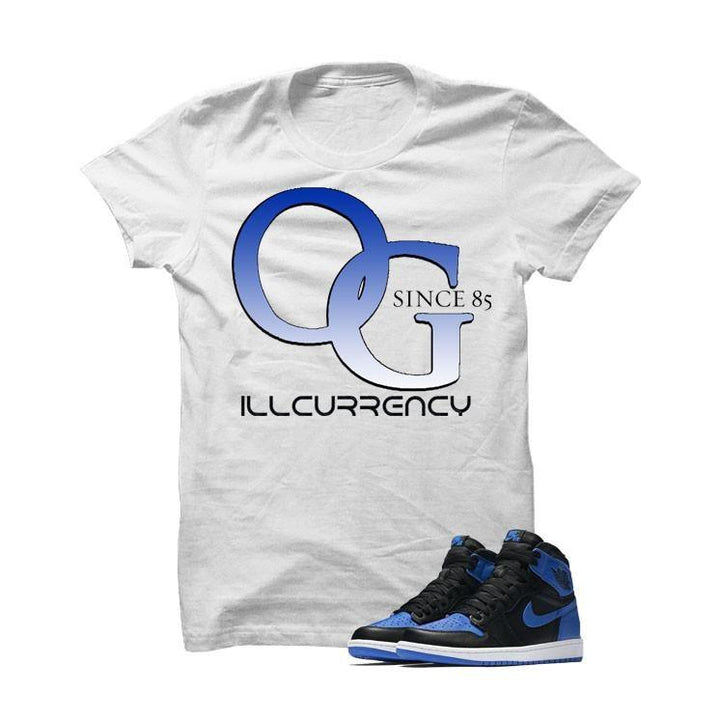 Jordan 1 Og Royal White T Shirt (O.G.)