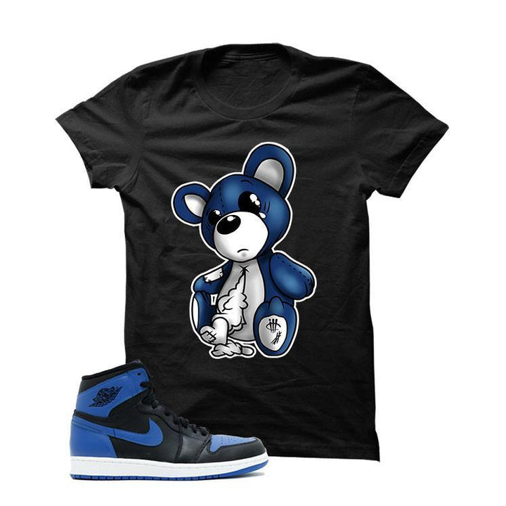 Jordan 1 Og Royal Black T Shirt (Teddy Bear)