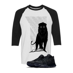 "Nike Kyrie 3 ""Marble""  White & Black Baseball T (LION)"