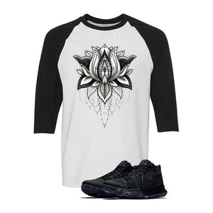 "Nike Kyrie 3 ""Marble""  White & Black Baseball T (LOTUS)"