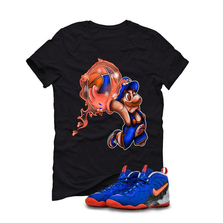 Nerf Nike Little Posite Pro GS Black T (MARIO)
