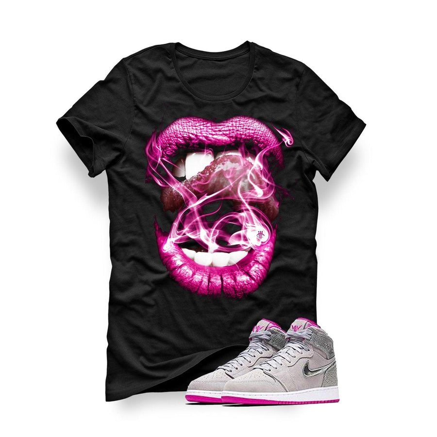 Air Jordan 1 Maya Moore Black T (Smoke N Lips)