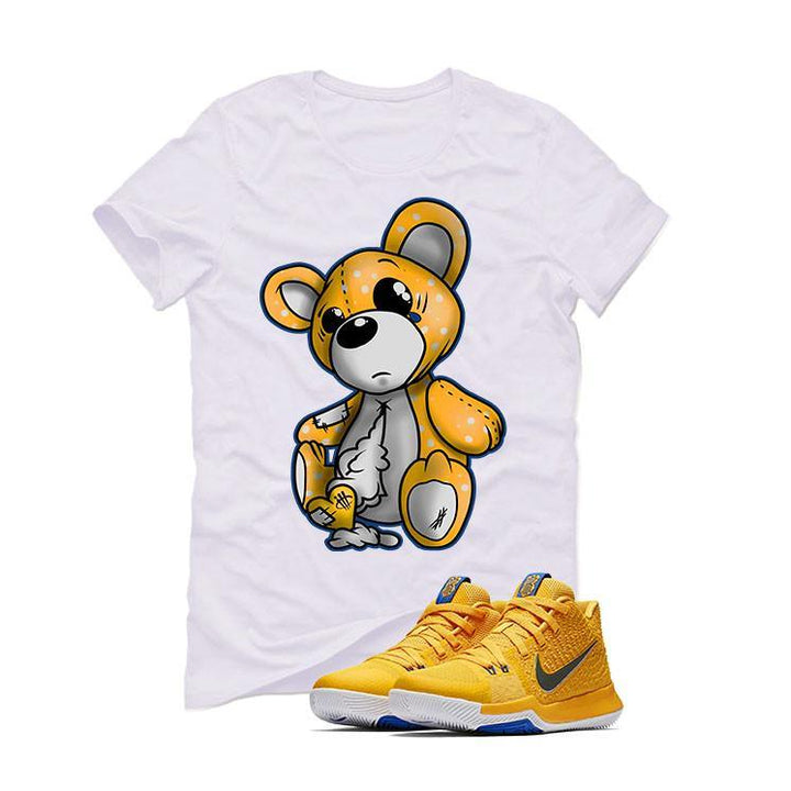 Nike Kyrie 3 Mac and Cheese Kids White T (TEDDY)