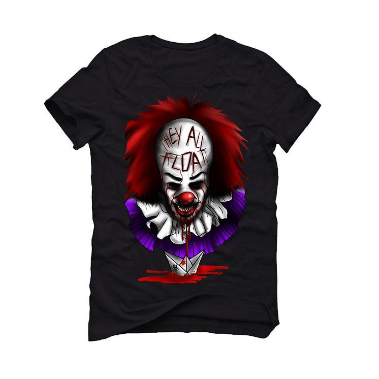 Halloween Collection 2017 Black T Shirt (THEY ALL FLOAT)