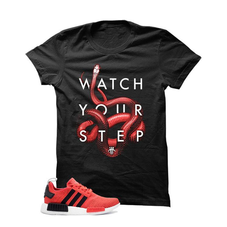 the latest 4a6aa 3a353 Adidas NMD R1 Red/Black Black T (Watch)