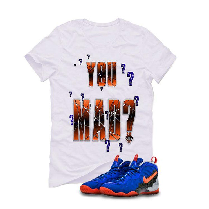 Nerf Nike Little Posite Pro GS White T (YOU MAD?)