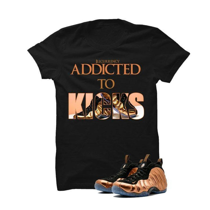 Foamposite One Copper Black T Shirt (addicted to kicks)