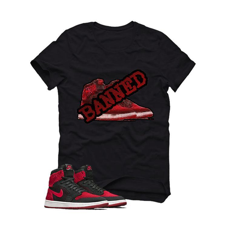 "Air Jordan 1 Flyknit ""Banned""BLACK T (BANNED)"