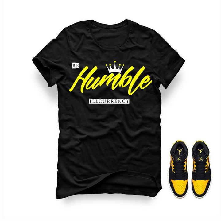 Jordan 1 Mid New Love Black T Shirt (Be Humble)
