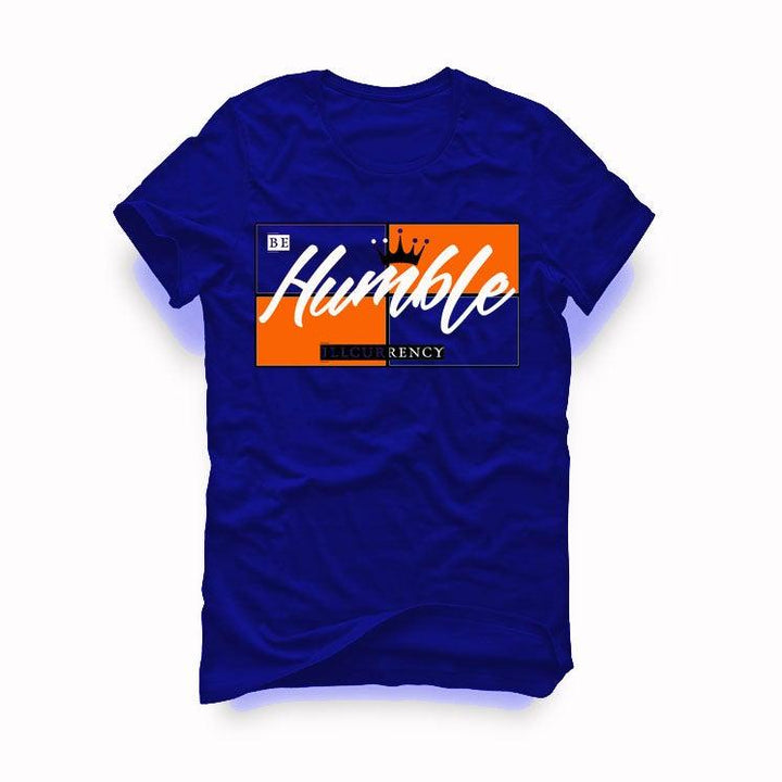 "AIR JORDAN 3 ""KNICKS"" Royal Blue T-Shirt (Be Humble)"