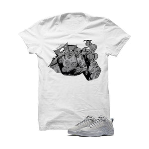 Jordan 12 Low Wolf Grey White T Shirt (Dead Dice)