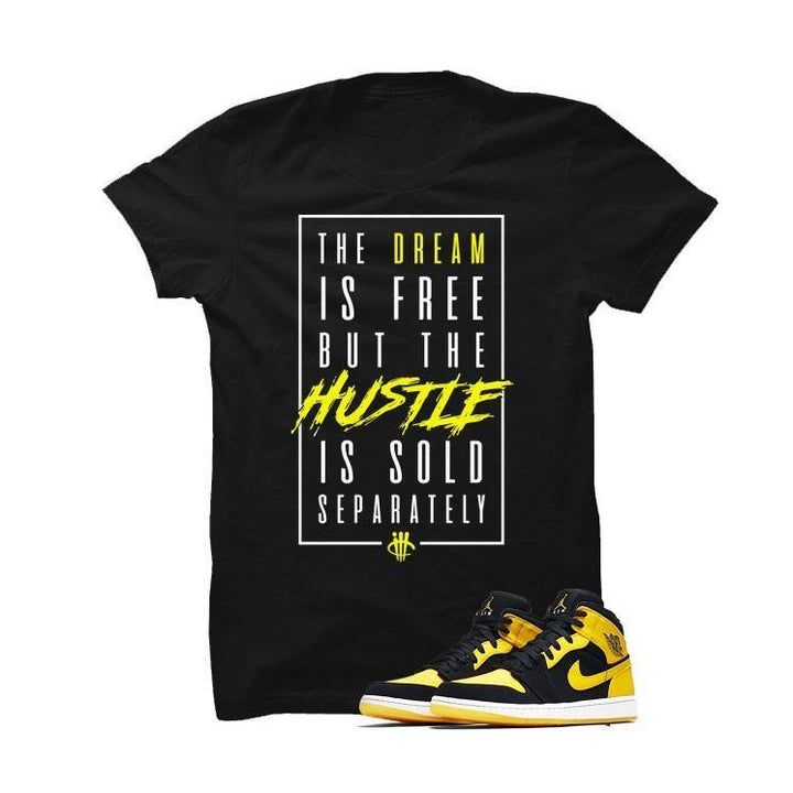 Jordan 1 Mid New Love Black T Shirt (Dream)