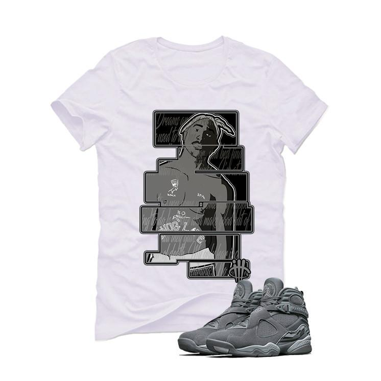 Air Jordan 8 Cool Grey White T (Dream)