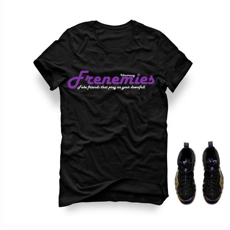 Foamposite One Eggplant Black T Shirt (Frenemies)